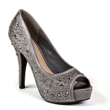 LAUREN PEWTER LADY COUTURE SHOES