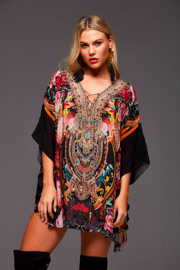 LET YOUR SOUL FLY CZARINA BUTTERFLY TOP