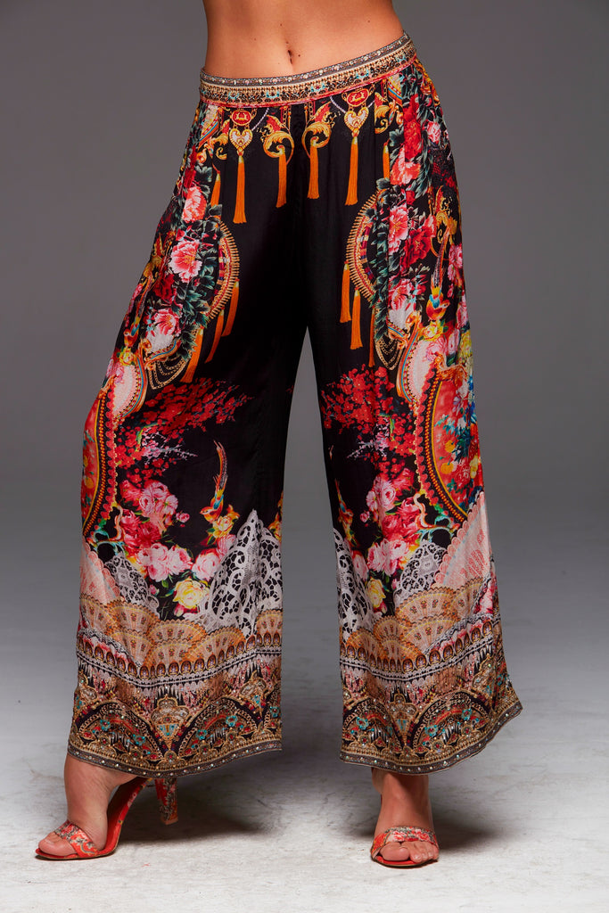 LET YOUR SOUL FLY CZARINA PALAZZO PANTS