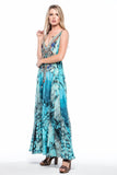 LINNAE CZARINA MAXI-DRESS