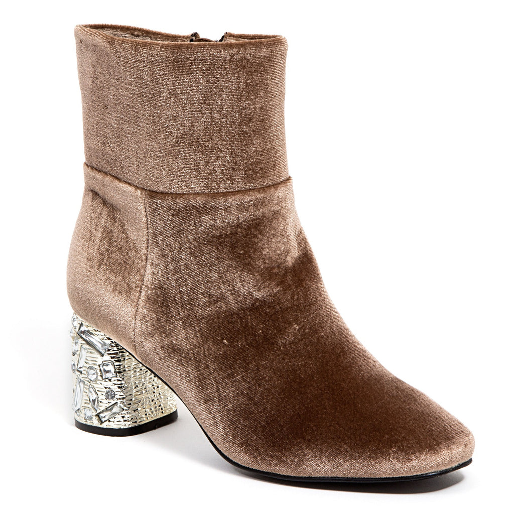 LYON TAUPE LADY COUTURE SHOES