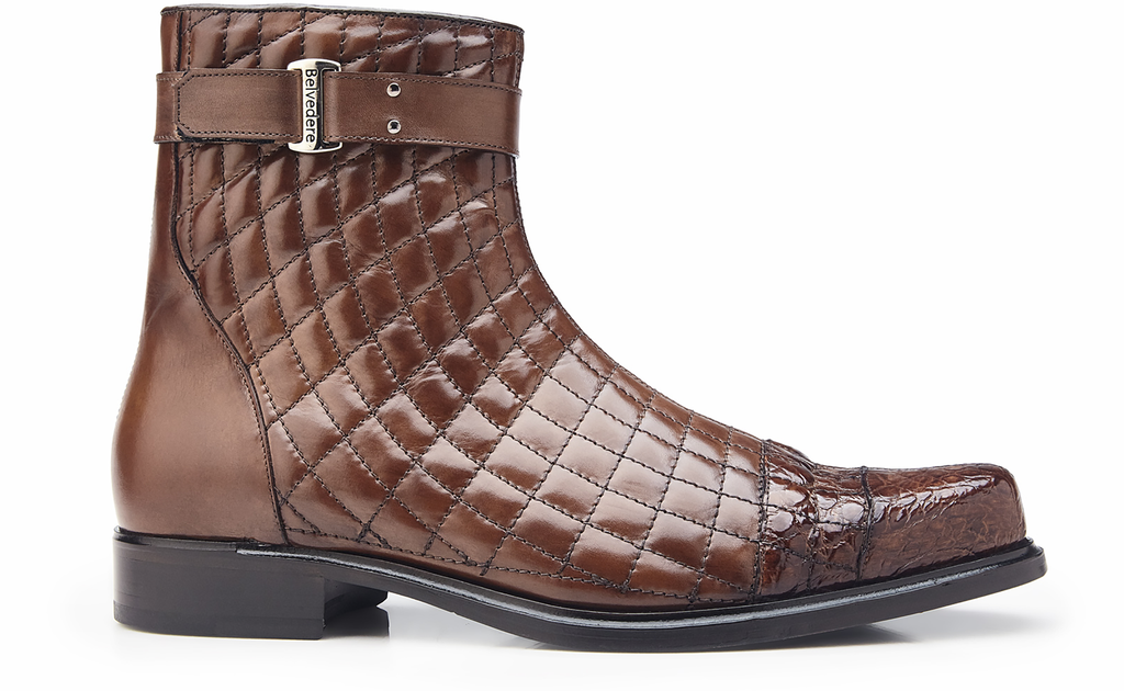 Libero Maple Belvedere Alligator Boots