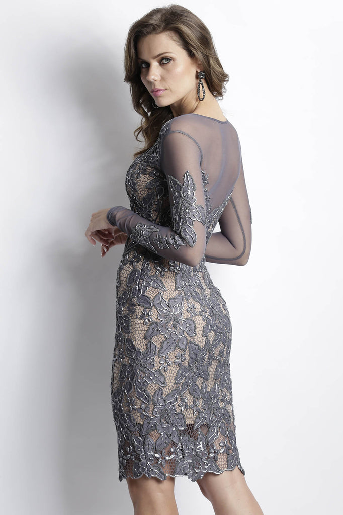Roselyn Charcoal Baccio Couture Dress