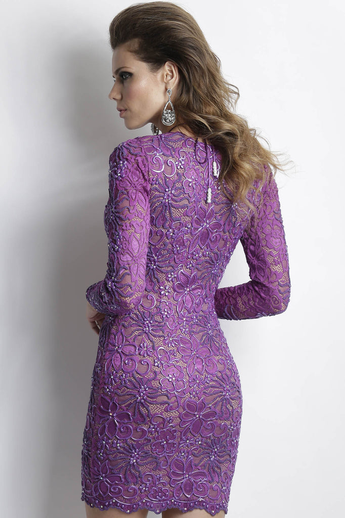 Analia Purple Baccio Couture Dress
