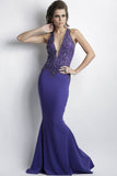 Alitze Purple Baccio Couture Gown