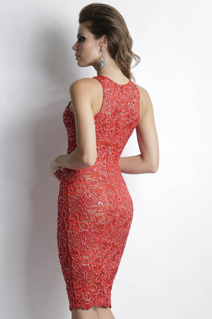 Alitze Red Baccio Couture Dress