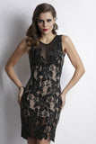 Yuri Black Baccio Couture Dress