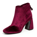 MARVELOUS BURGUNDY LADY COUTURE SHOES
