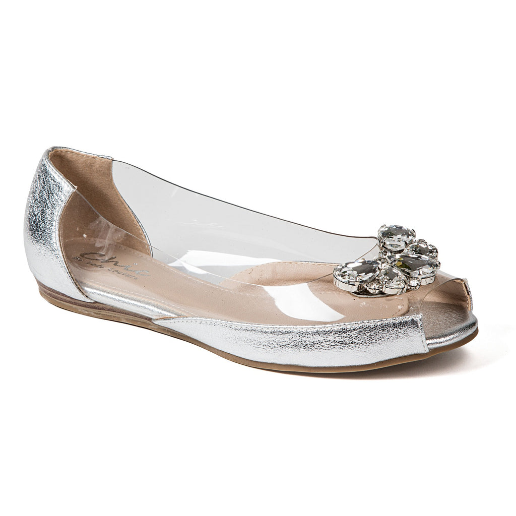 MIAMI SILVER LADY COUTURE SHOES