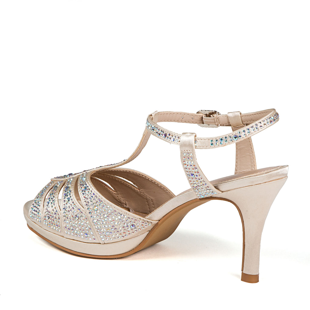 MIDNIGHT CHAMPAGNE LADY COUTURE SHOES