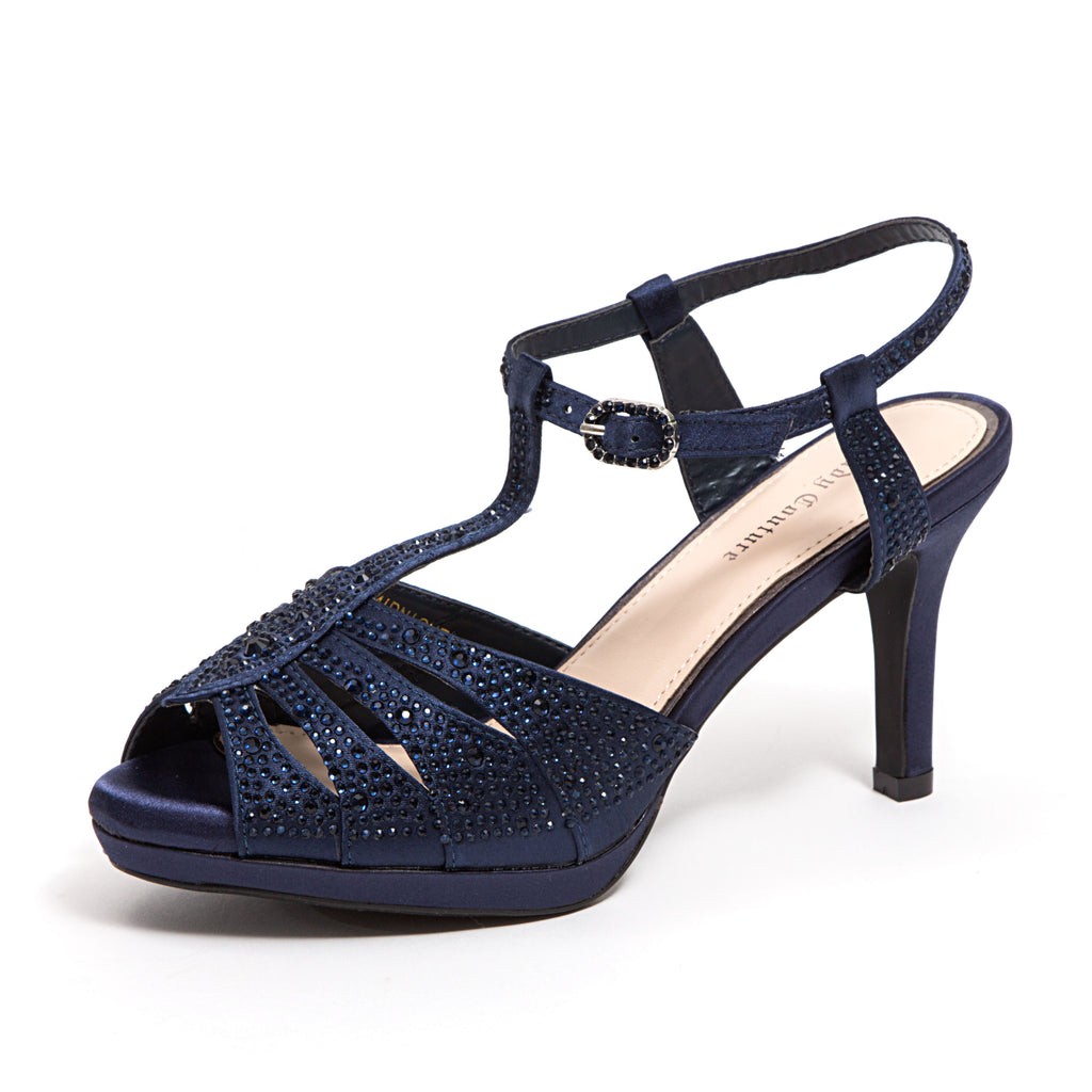 MIDNIGHT NAVY LADY COUTURE SHOES