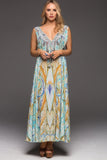 MOSAIC CZARINA MAXI DRESS