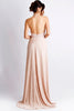 Marcella Painted Caviar Pink Baccio Couture Gown