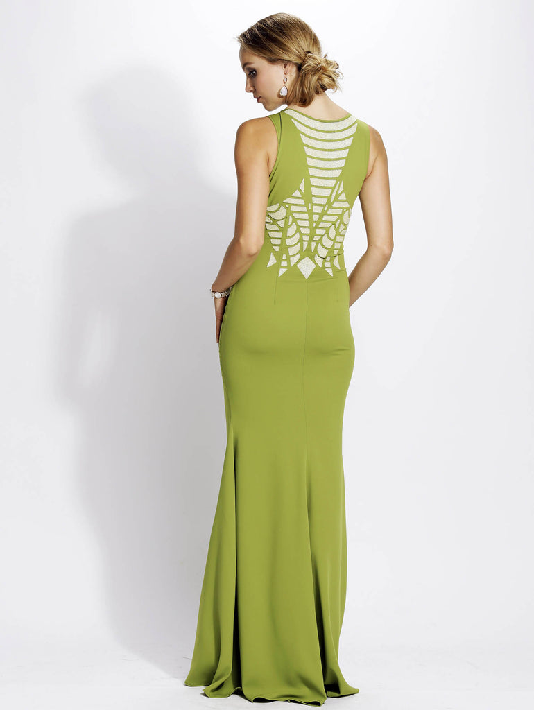 Paulina Painted Baccio Couture Gown