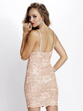 Zara Painted Baccio Couture Short Dress