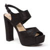PERLA BLACK LADY COUTURE SHOES