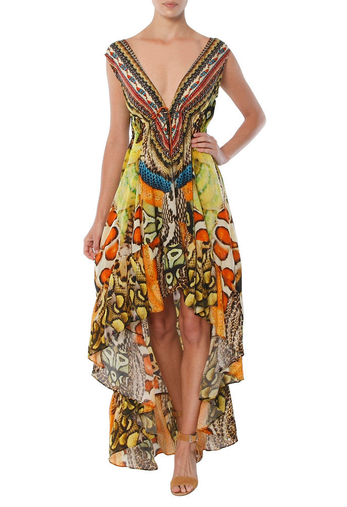 Cobra Shahida Parides Hi Low Dress