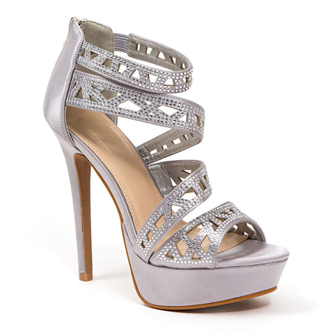 ABBY PEWTER LADY COUTURE SHOES