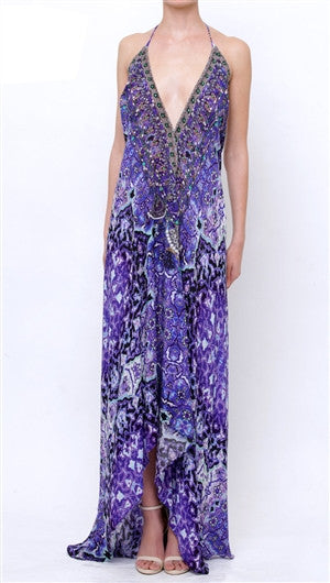 Purple Rain Shahida Parides 3 Way Dress