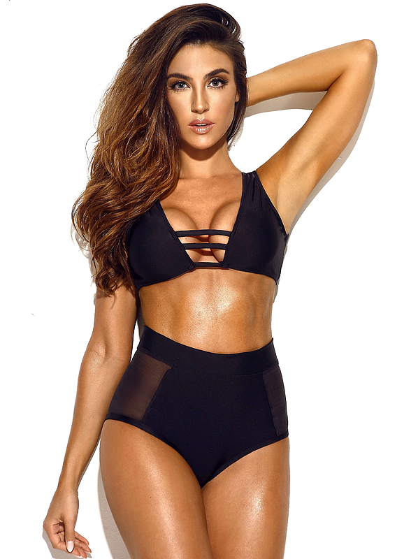 Pena Lush Caviar Two Piece Swimwear