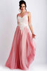 Princess Painted Caviar Pink Baccio Couture Gown