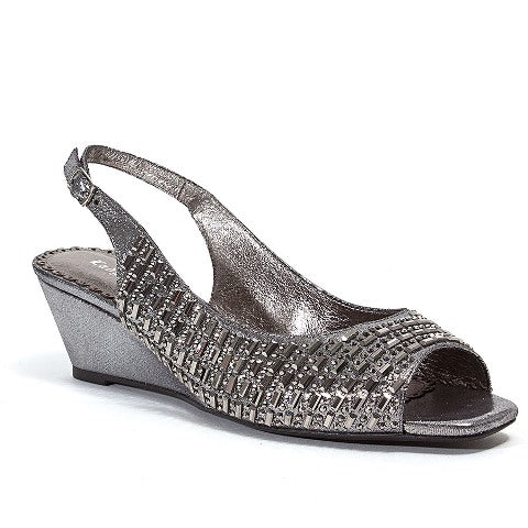 QUEEN PEWTER LADY COUTURE SHOES
