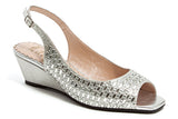 QUEEN SILVER LADY COUTURE SHOES