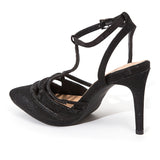ROYAL BLACK LADY COUTURE SHOES