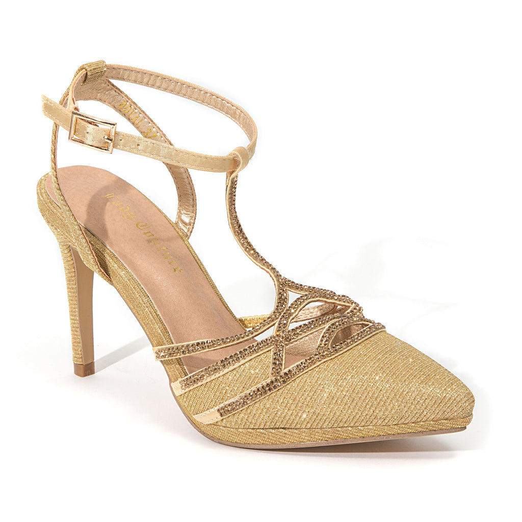ROYAL GOLD LADY COUTURE SHOES