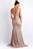 Roxy Painted Cream Baccio Couture Gown