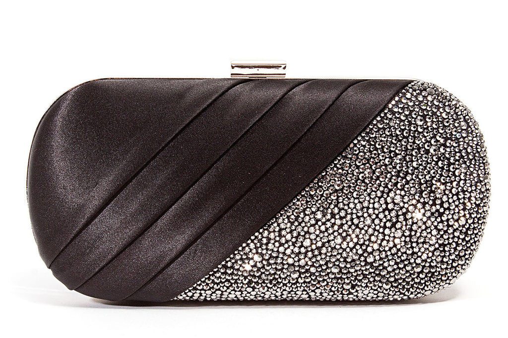 Sharp Black Lady Couture Clutch