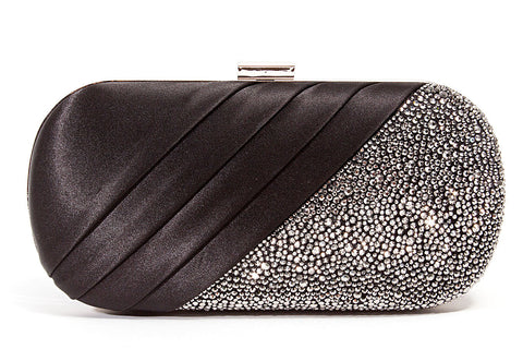 Runway Black Lady Couture Clutch