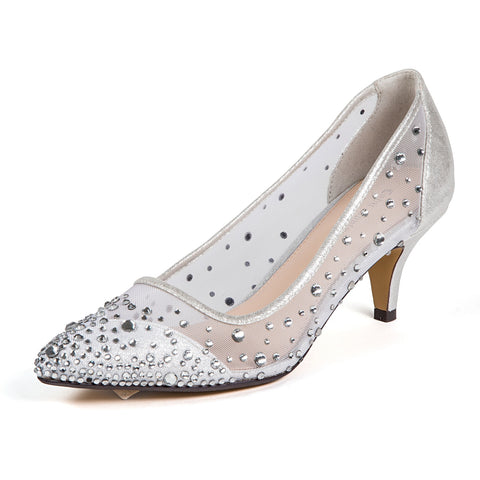 BROADWAY TAUPE LADY COUTURE SHOES