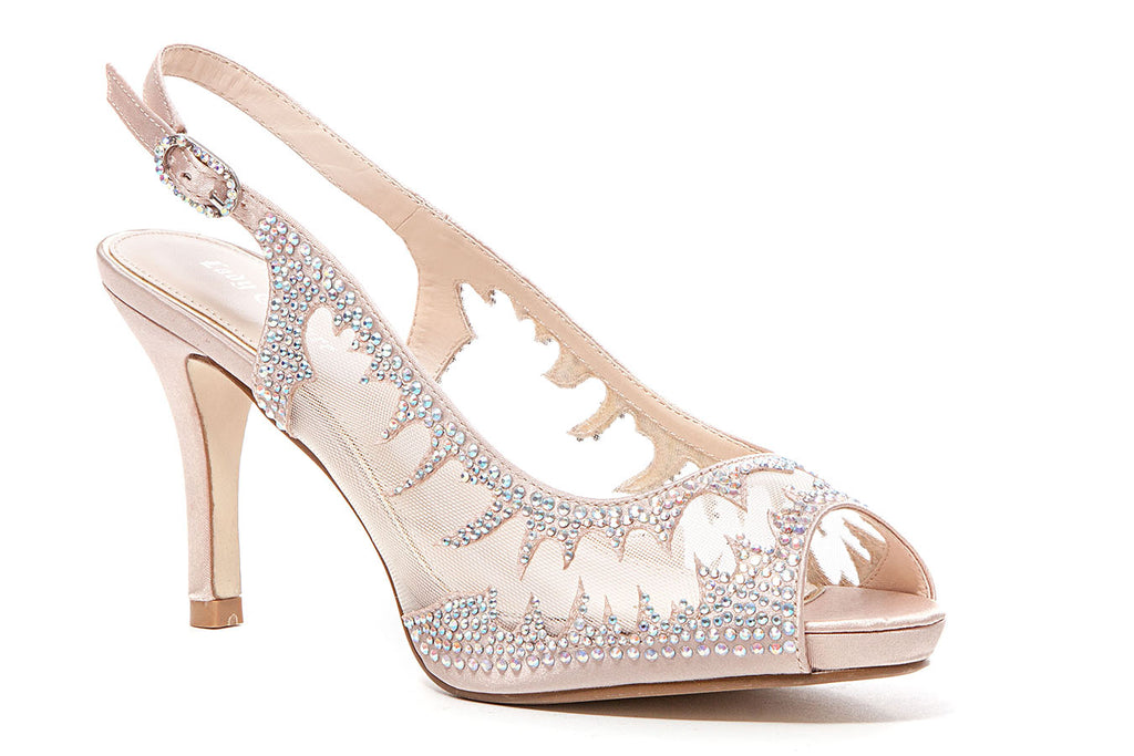 SPICY CHAMPAGNE LADY COUTURE SHOES