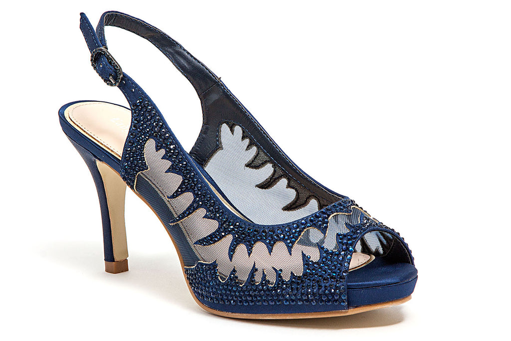 SPICY NAVY LADY COUTURE SHOES