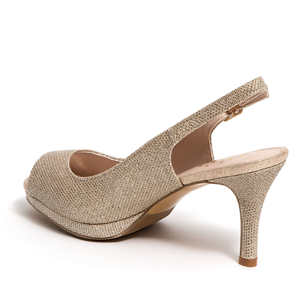 SUE GOLD LADY COUTURE SHOES