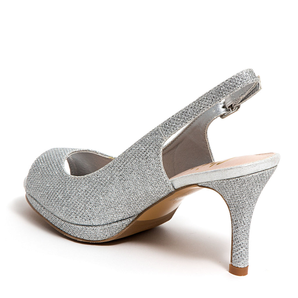 SUE SILVER LADY COUTURE SHOES