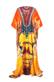 Avatar Papaya Parides Long Caftan Dress