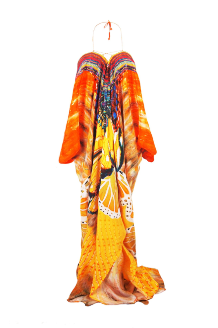 Avatar Papaya Parides Long Kaftan Dress