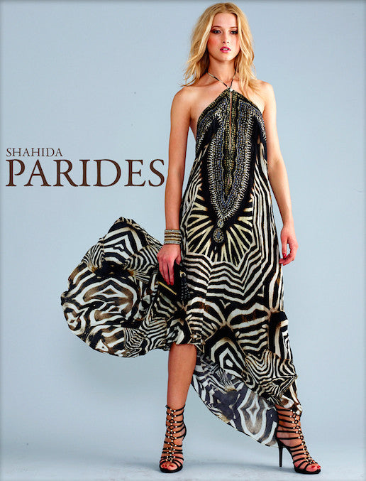 3 Way Wild Stripes Parides Maxi Dress