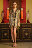 CHEETAH KAFTAN SHAHIDA PARIDES TOP