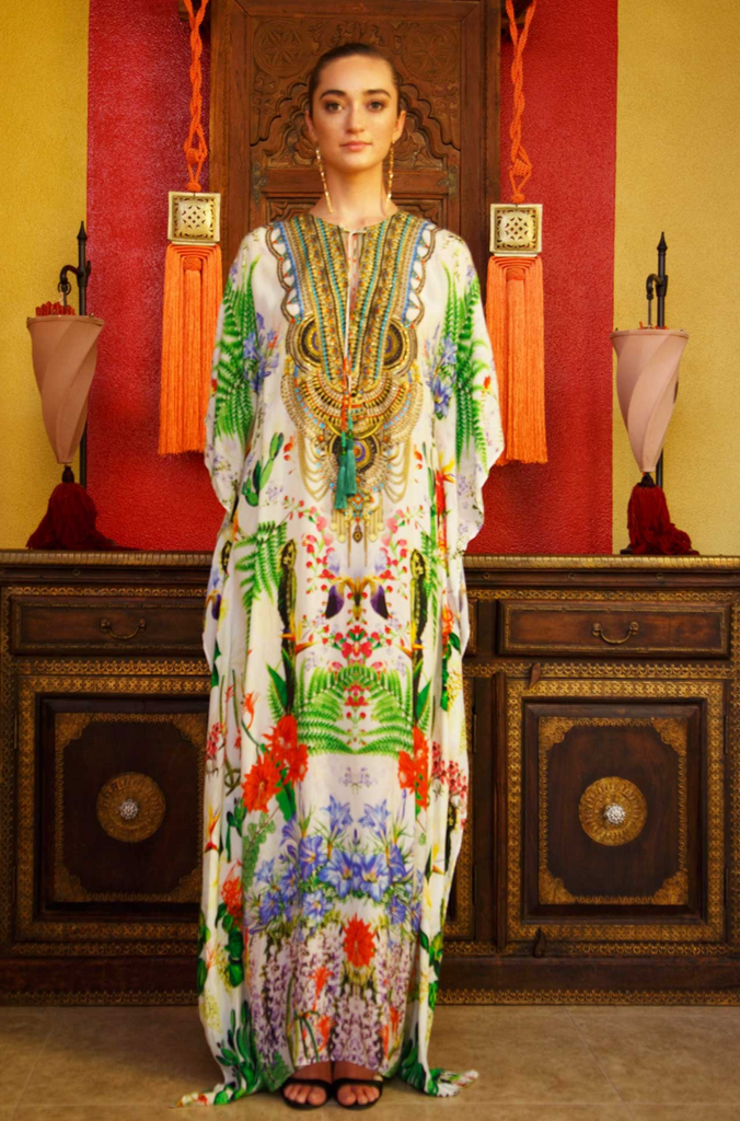 DESERT BLOOM SHAHIDA PARIDES KAFTAN