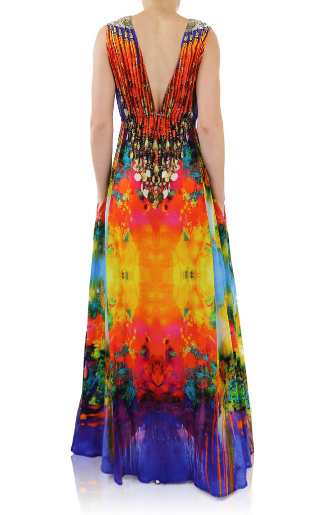 Monet Sunset Shahida Parides Dress