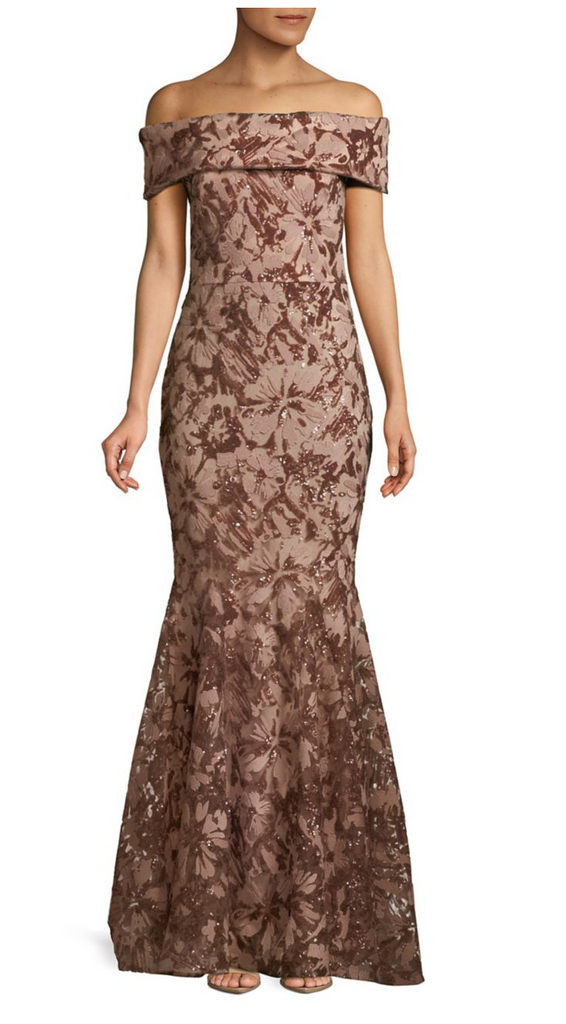 6759N Mocha Nicole Bakti Dress