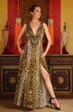 Cheetah Shahida Parides Dress AS SEEN ON PARIS HILTON