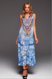 A DAY IN GREECE CZARINA MAXI DRESS