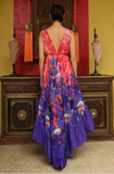 SONORAN DESERT HIGH LOW SHAHIDA PARIDES DRESS