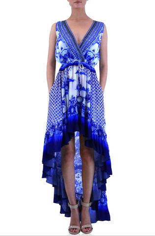 Blue Jay Flamingo 3 Way Shahida Parides Dress