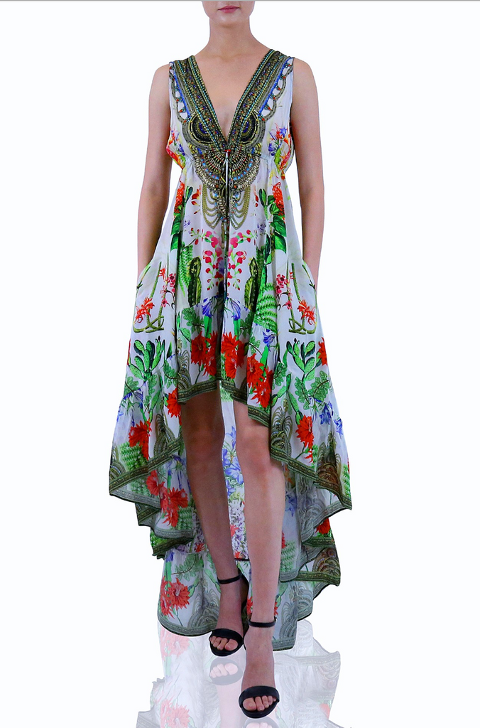 DESSERT BLOOM HI LOW SHAHIDA PARIDES DRESS