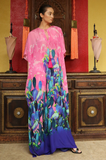 SONORAN DESSERT FLAMINGO Shahida Parides Kaftan Dress